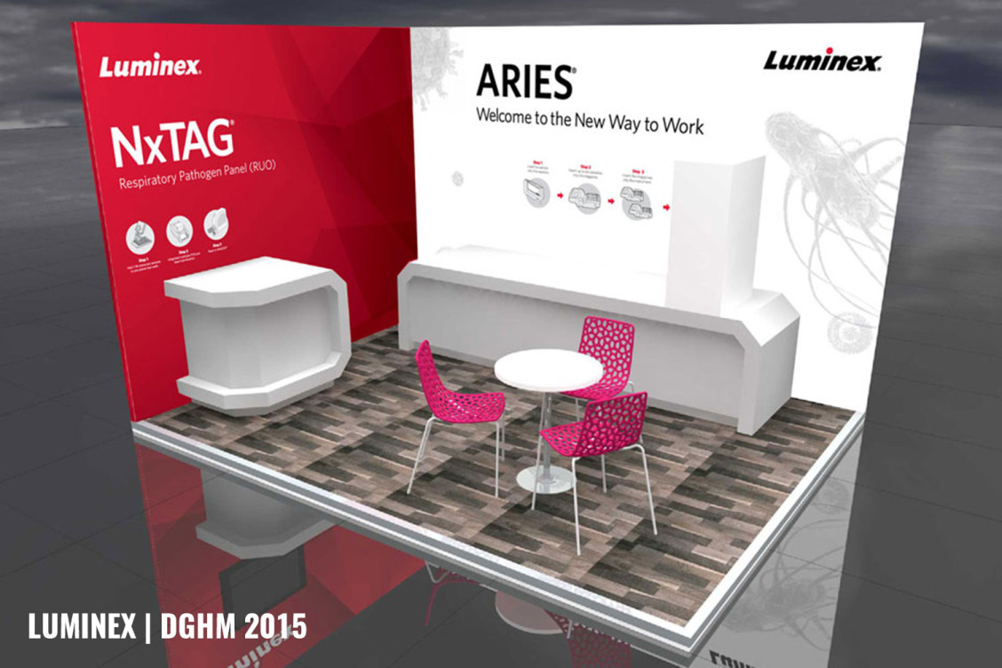 Luminex DGHM Booth Europe
