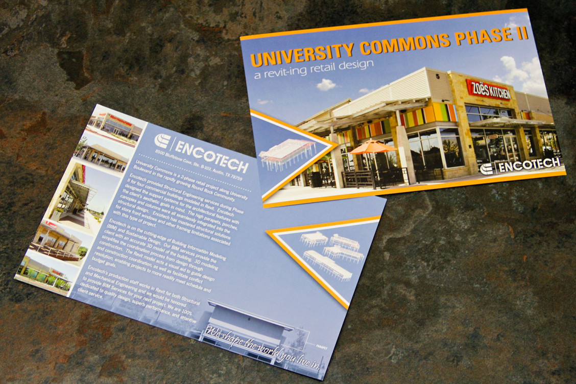 Encotech Postcard University Commons