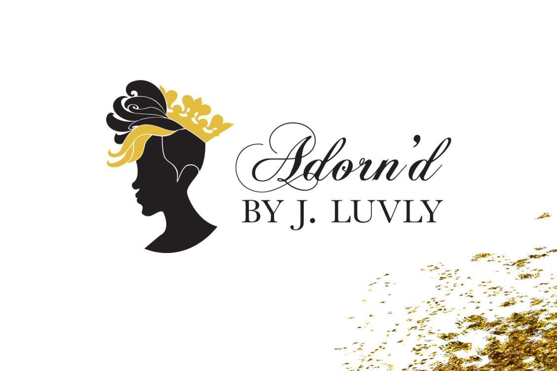Adorn'd by J. Luvly Logo